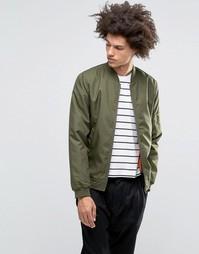 Куртка-пилот Troy MA1 - Зеленый