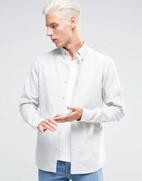 Оксфордская рубашка Troy - Серый