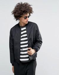 Куртка-пилот Troy MA1 - Черный