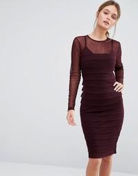 Моделирующее платье Body Frock Claudia - Фиолетовый
