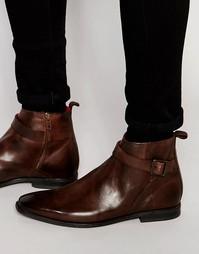 Кожаные ботинки Base London Albert Jodphur - Коричневый