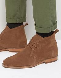 Замшевые ботинки на шнуровке Bobbies Le Monsieur - Рыжий