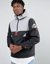 Куртка через голову New Era Giants - Черный