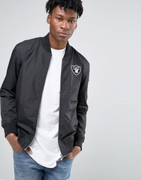 Куртка-пилот New Era Raiders - Черный
