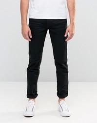 Черные джинсы классического кроя Jack & Jones - Черный