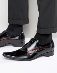 Кожаные туфли дерби Jeffery West Pino - Черный
