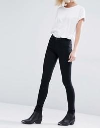 Супероблегающие джинсы Weekday - Кремовый