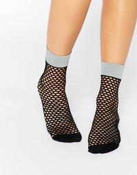 Сетчатые носки Johnathon Aston Flash - Черный