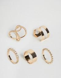 Набор колец Nylon - Золотой