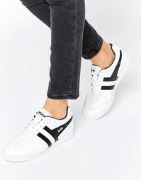 Кожаные кроссовки Gola Harrier - Белый
