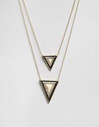 Ожерелье с подвесками House Of Harlow - Золотой