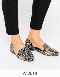 Туфли для широкой стопы на плоской подошве ASOS MYRA - Мульти