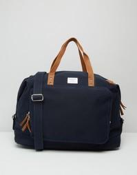 Синяя сумка Sandqvist Charles - Синий