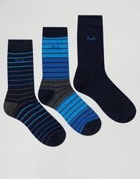 3 пары темно-синих носков Pringle Alloa - Темно-синий