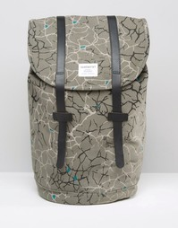 Рюкзак с принтом Sandqvist - Серый