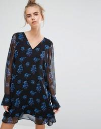 Платье с длинными рукавами Essentiel Antwerp Marci - Мульти