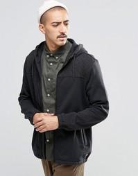 Черное худи со светоотражающим принтом Converse 10002146-A01 - Черный