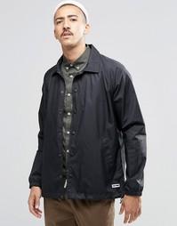 Черная спортивная куртка из ткани рипстоп Converse 10002158-A01 - Черный