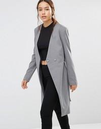 Пальто Finder Keepers Upgrade You - Серый