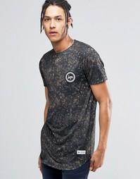 Футболка с камуфляжным принтом Hype - Черный