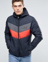 Дутая куртка с капюшоном Ellesse - Черный