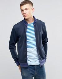 Спортивная куртка на молнии Bench - Темно-синий