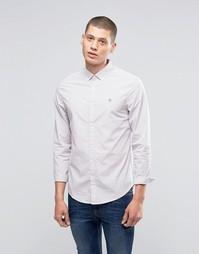 Рубашка слим в полоску Original Penguin - Фиолетовый