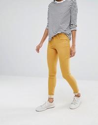 Зауженные джинсы Vila - Коричневый
