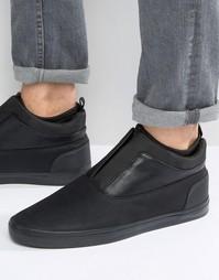 Кожаные кроссовки Aldo Hilawiel - Черный