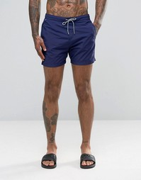 Базовые шорты для плавания Scotch and Soda - Темно-синий