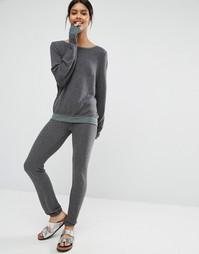 Серые тренировочные брюки Wildfox Malibu - Серый