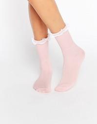 Носки с оборкой Gipsy - Розовый