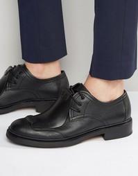 Кожаные туфли дерби G-Star Guard - Черный