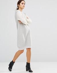 Платье‑свитшот Uncivilised Capricorn - Кремовый