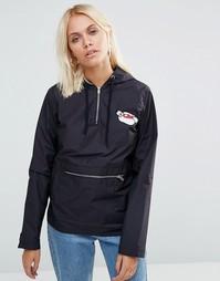 Куртка с вышивкой This is Welcome Wishdom - Черный