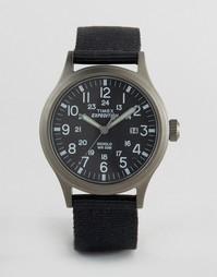 Черные часы Timex Expedition Scout - Черный
