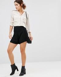 Короткая юбка‑шорты Uncivilised Garcia - Черный
