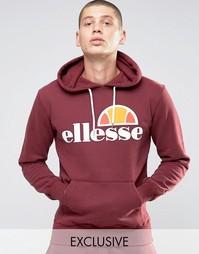 Худи с классическим логотипом Ellesse - Красный