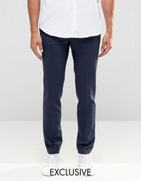 Супероблегающие брюки Noak - Темно-синий