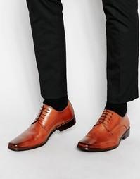 Кожаные туфли Dune Alphabet - Рыжий