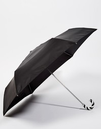 Lulu Guinness Superslim 2 Umbrella - Черный