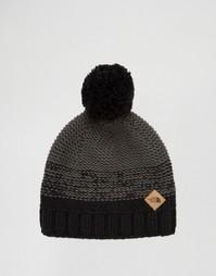 Черная шапка-бини с помпоном The North Face Antlers - Черный