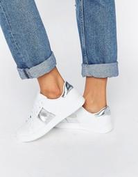 Кроссовки с полосками Truffle - Белый