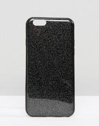 Чехол с блестками для iPhone 6 Signature - Черный