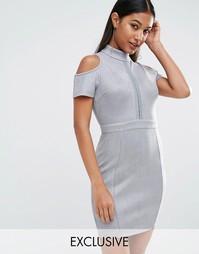 Облегающее платье NaaNaa - Серый