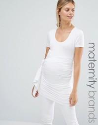 Топ для беременных Isabella Oliver - Белый