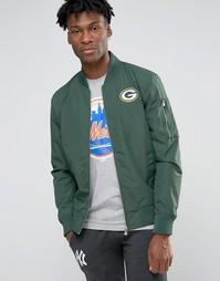 Куртка-пилот New Era Packers - Зеленый