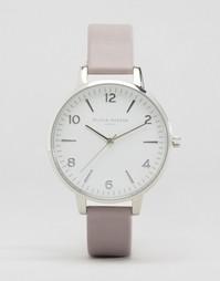 Серые часы с современным винтажным дизайном Olivia Burton - Серый