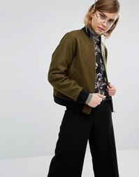 Шерстяная куртка‑пилот Gloverall - Зеленый