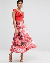 Пышная юбка с принтом Coast - Мульти